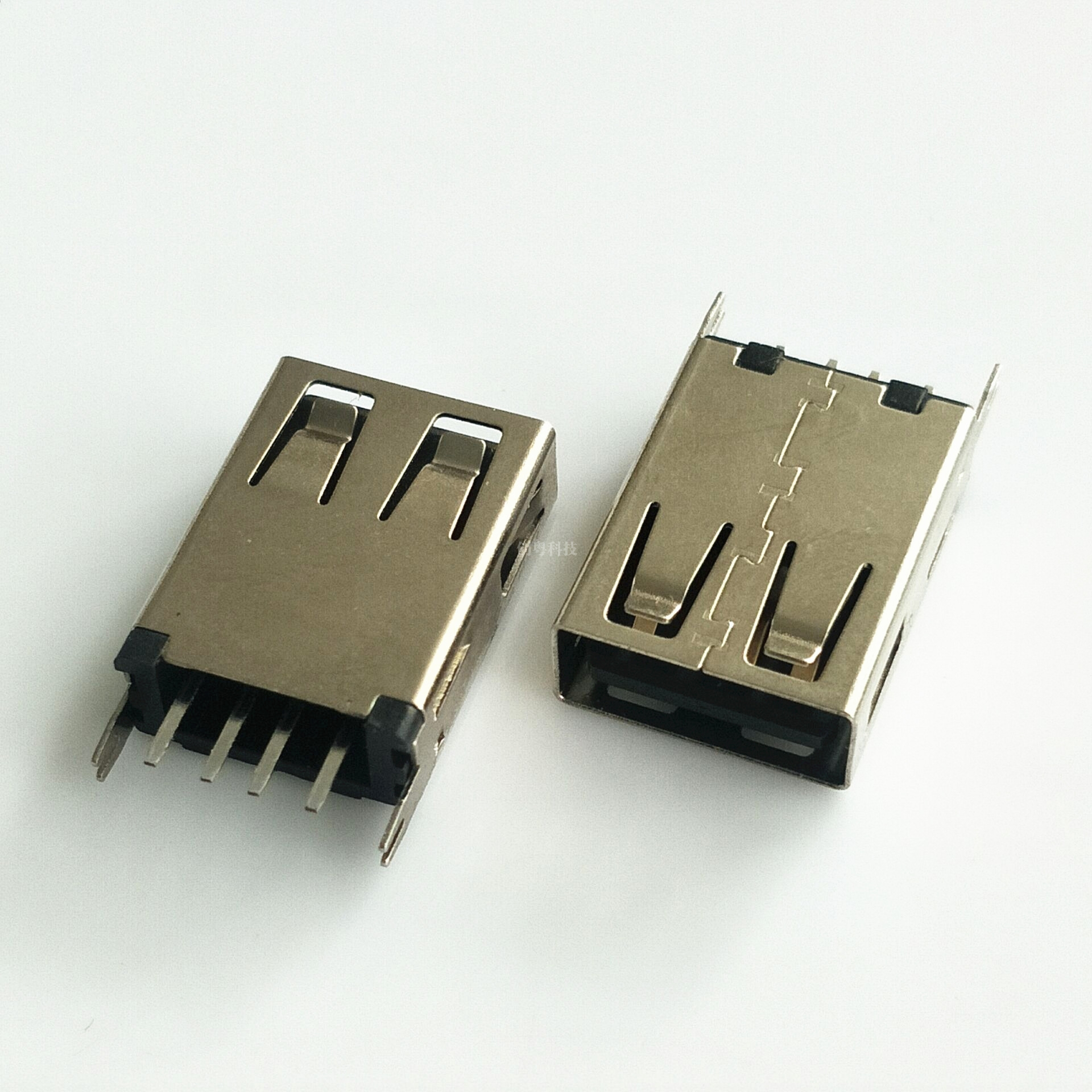 USB直插母座