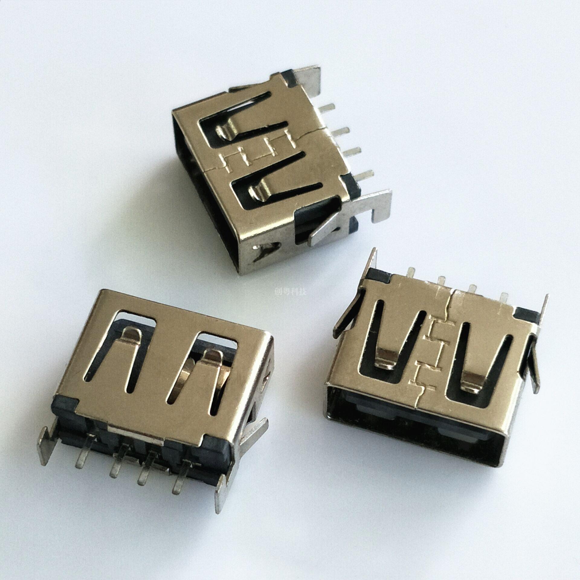 USB短体刺破