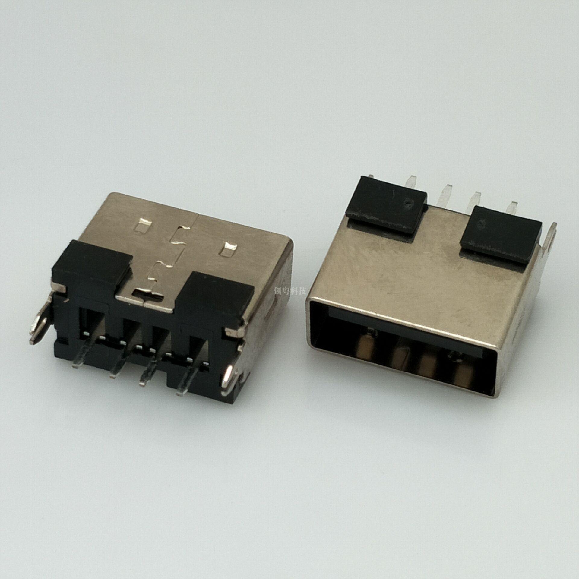 USB短体直插