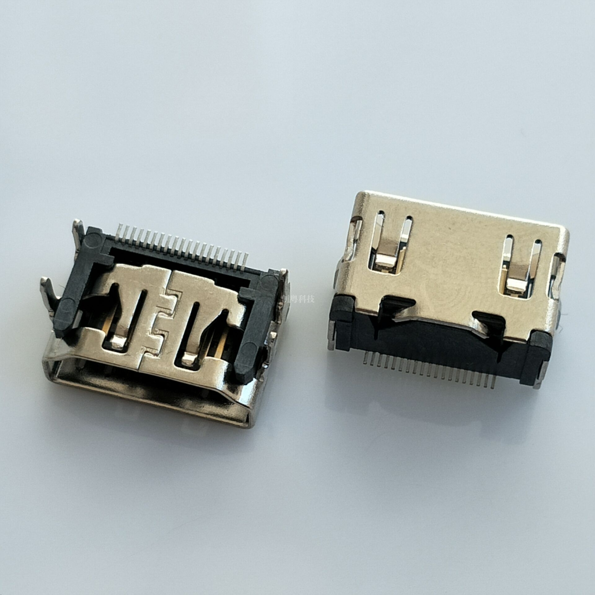 HDMI19PIN短体母座