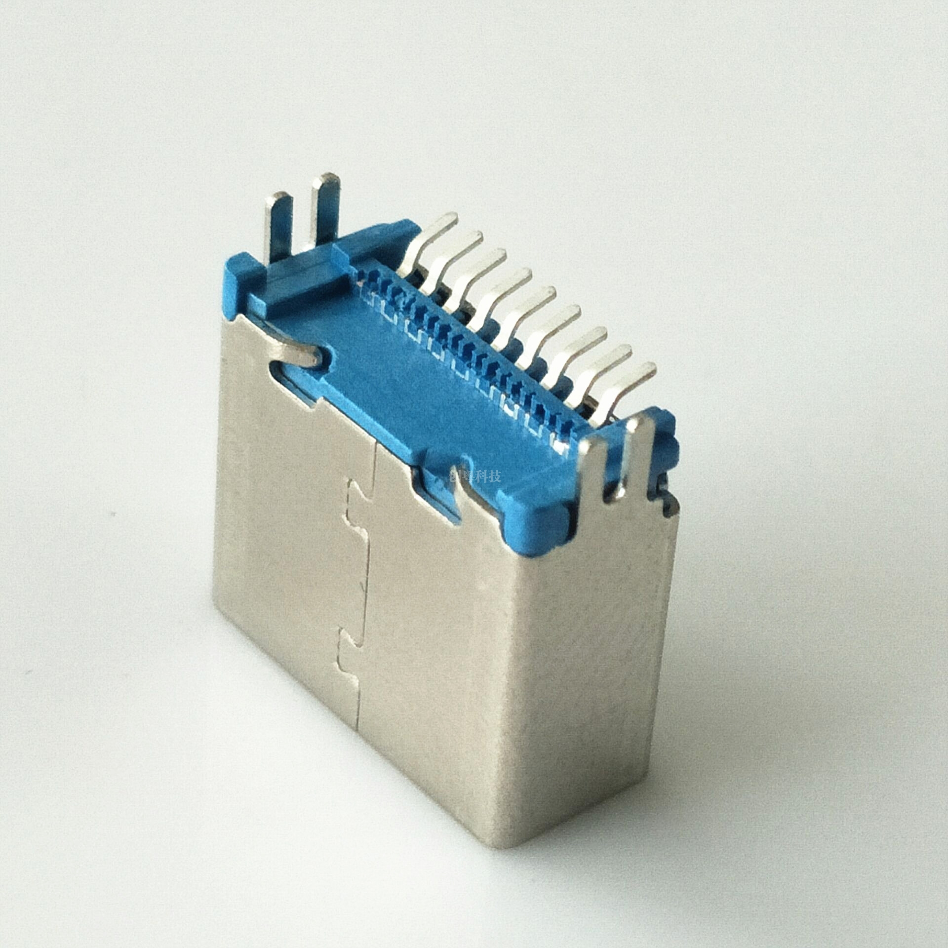 USB 3.0 立式贴片 母座