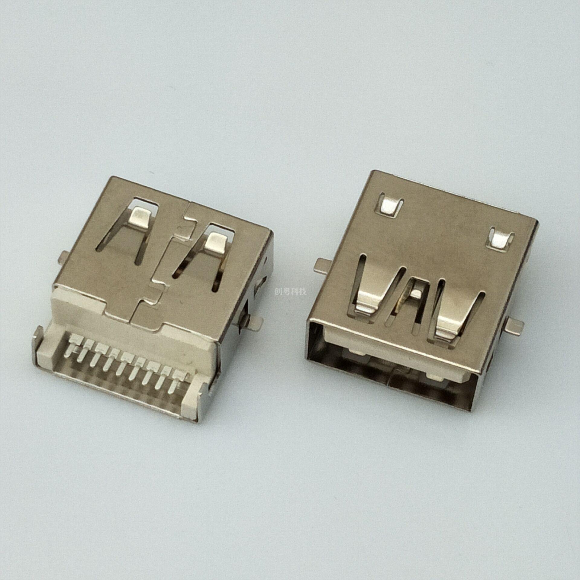 USB 3.0 沉板SMT