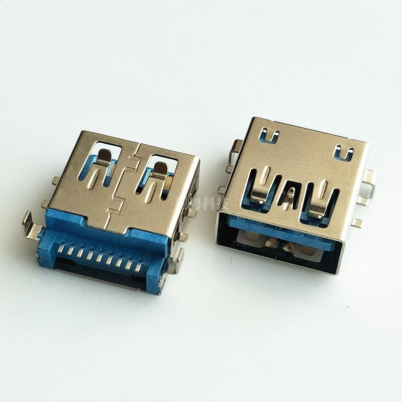 USB 3.0 沉板 六脚母座