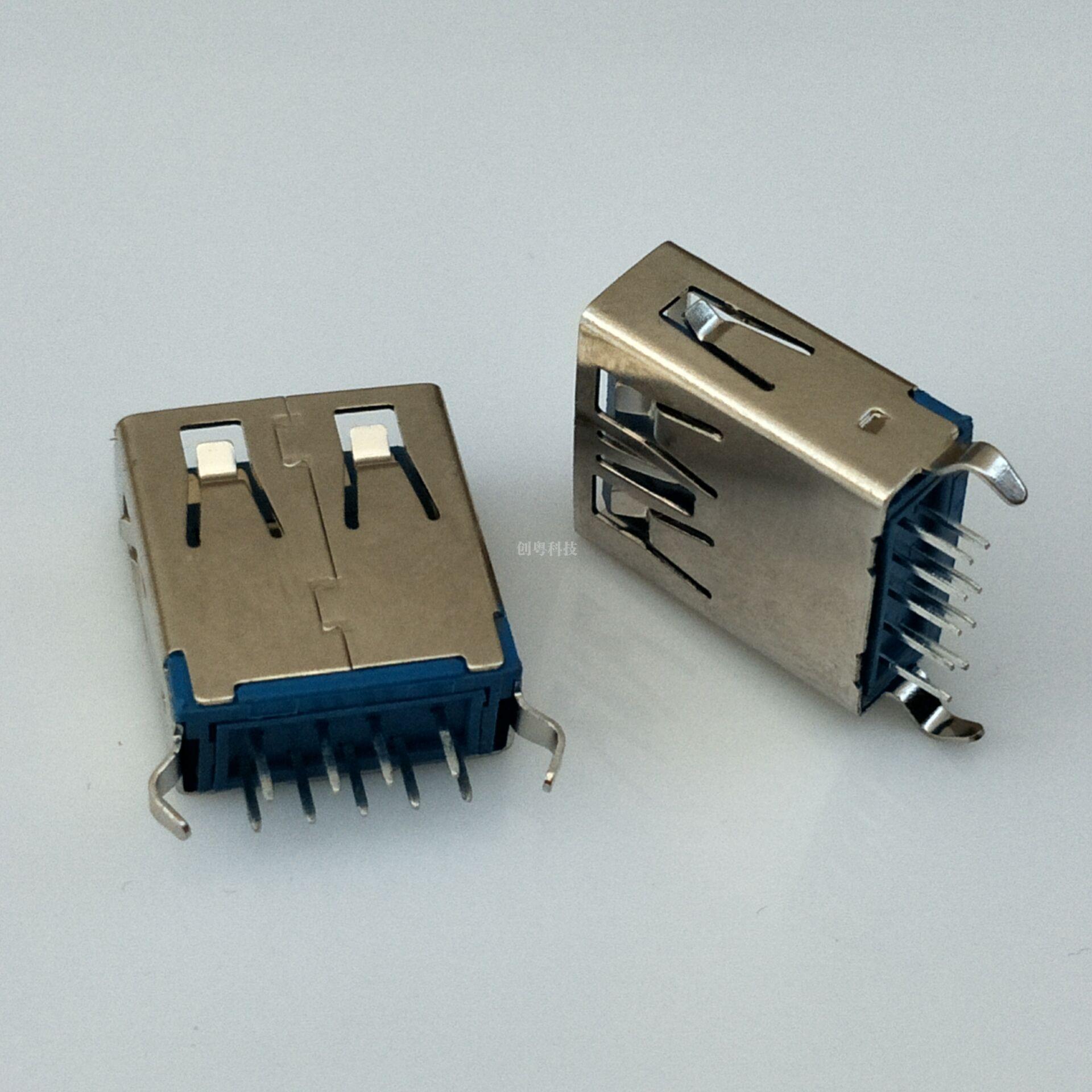 USB 3.0 180度母座