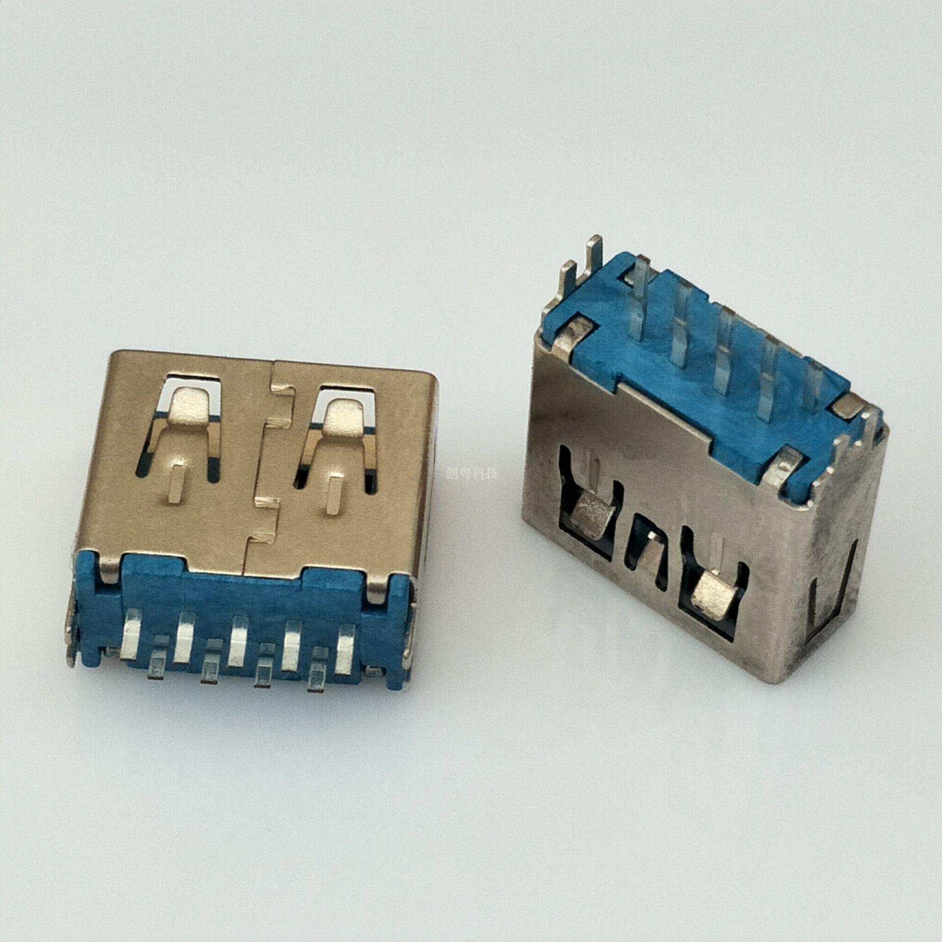USB 3.0 夹板母座
