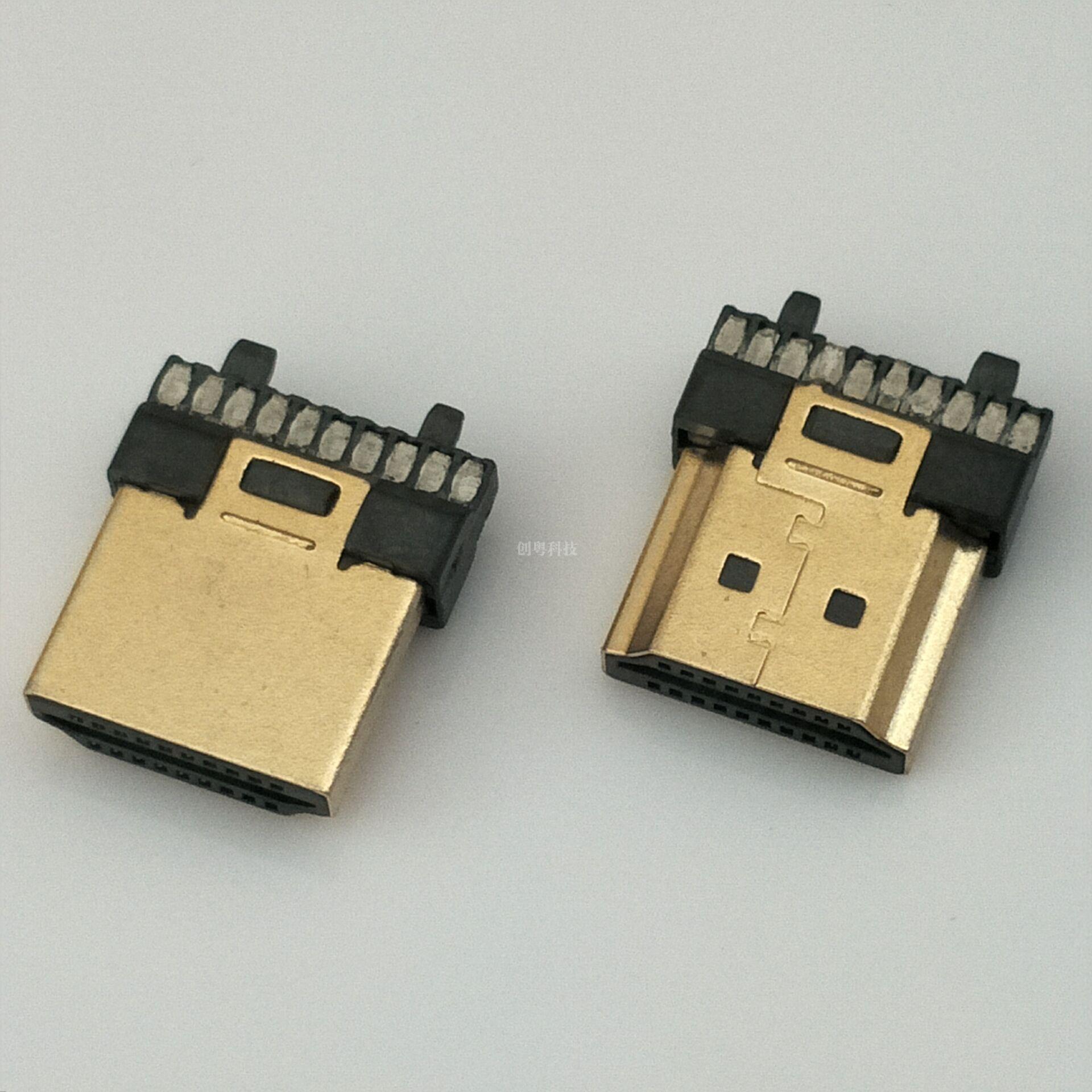 HDMI焊线公头
