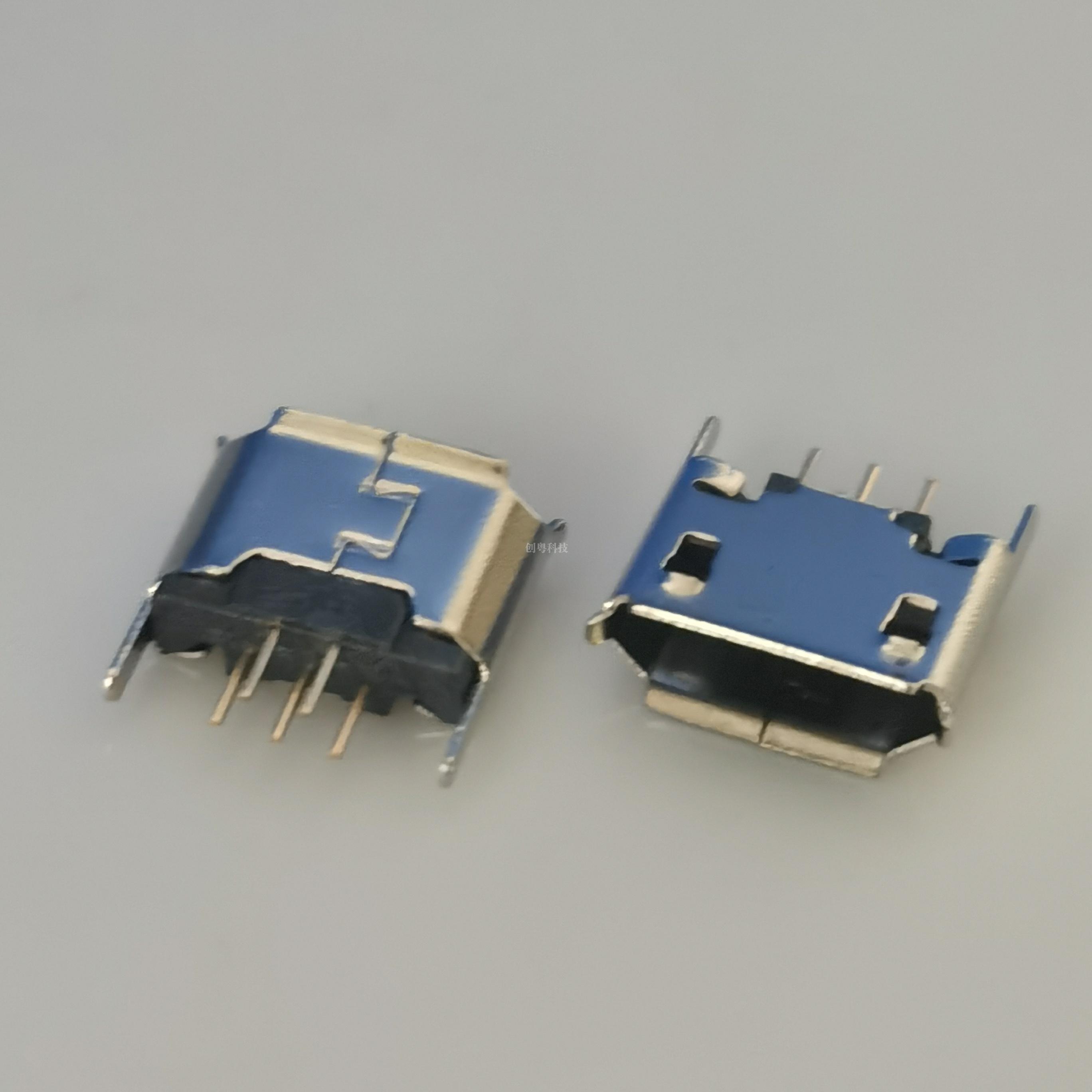 MICRO USB 直插母座