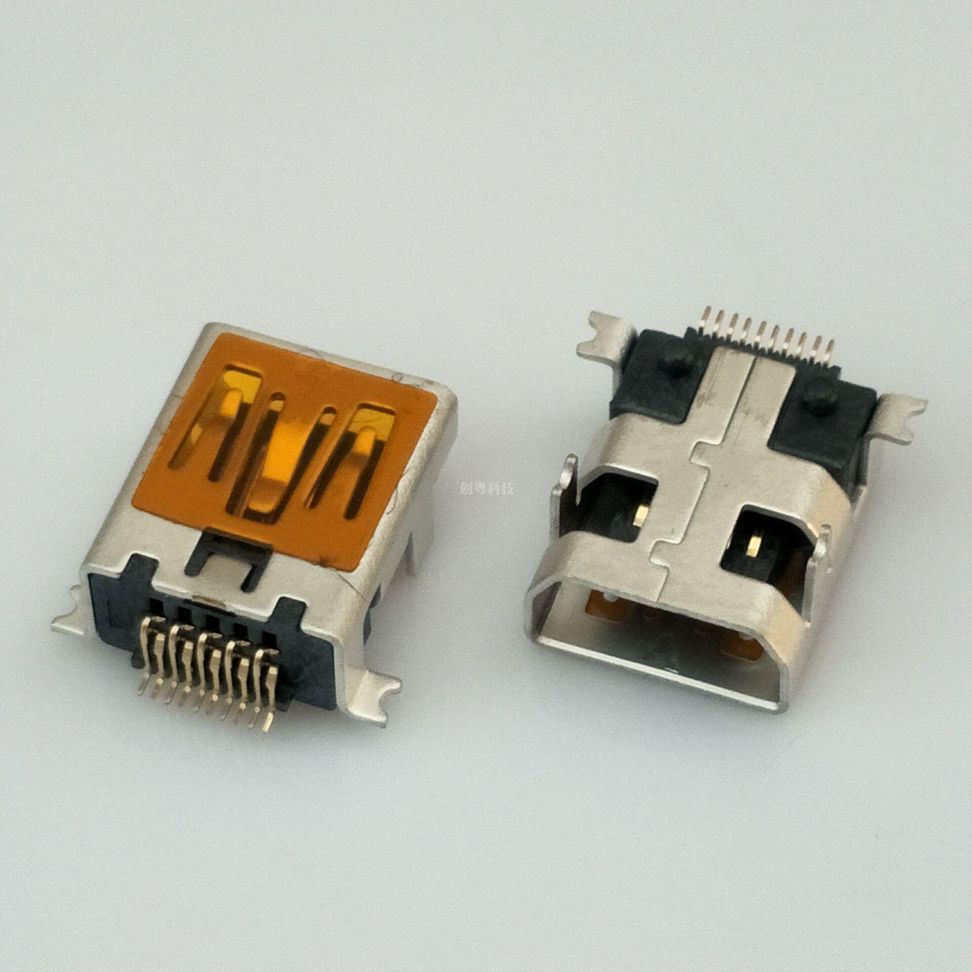 MINI USB 10P母座