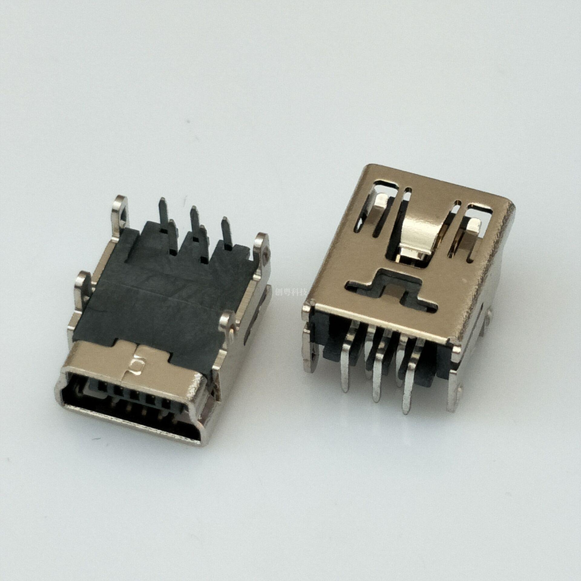 MINI USB 母座
