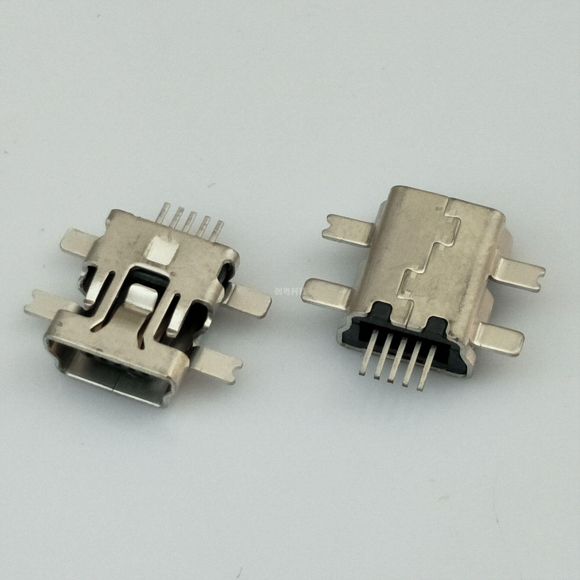 MINI USB 5P母座