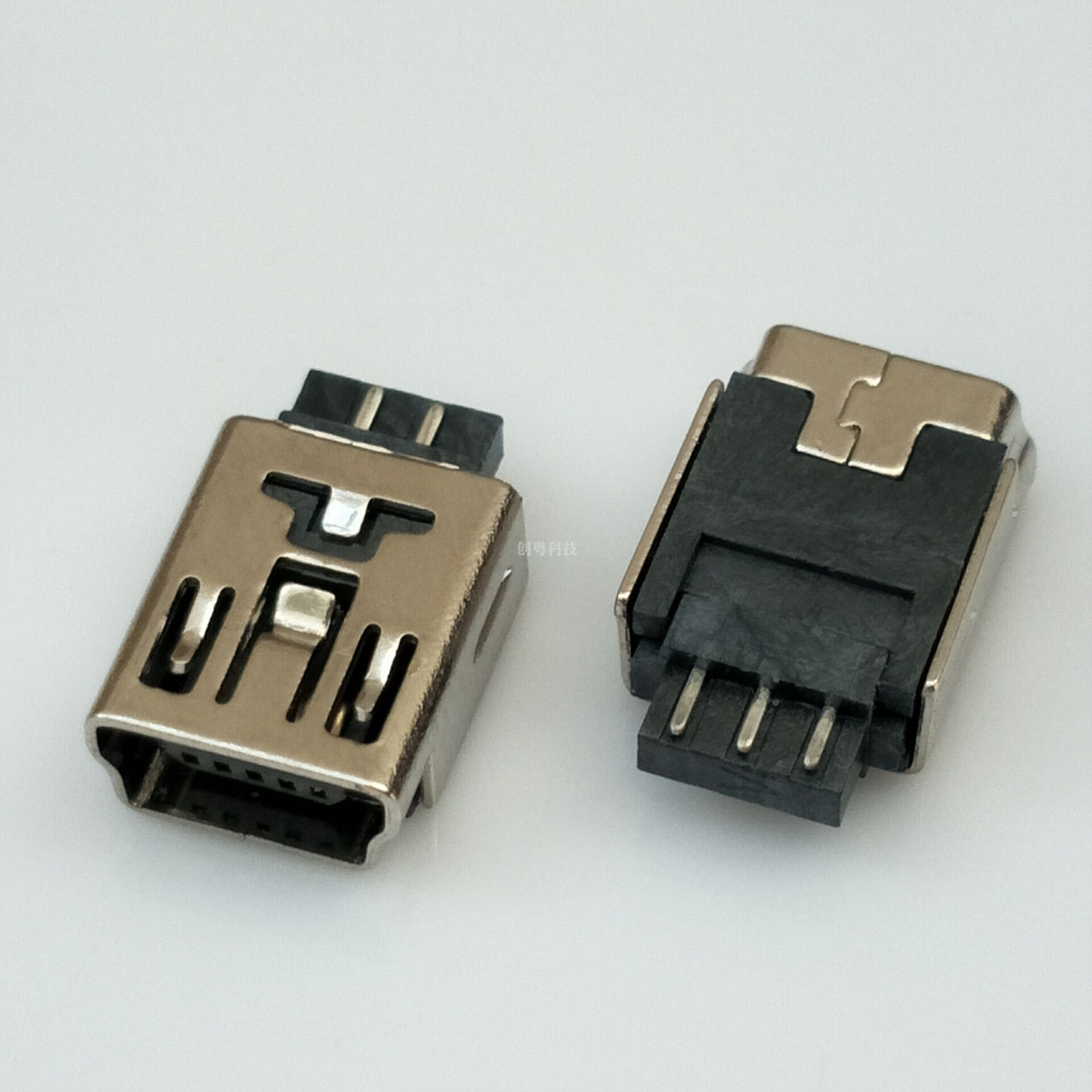MINI USB 焊线母座
