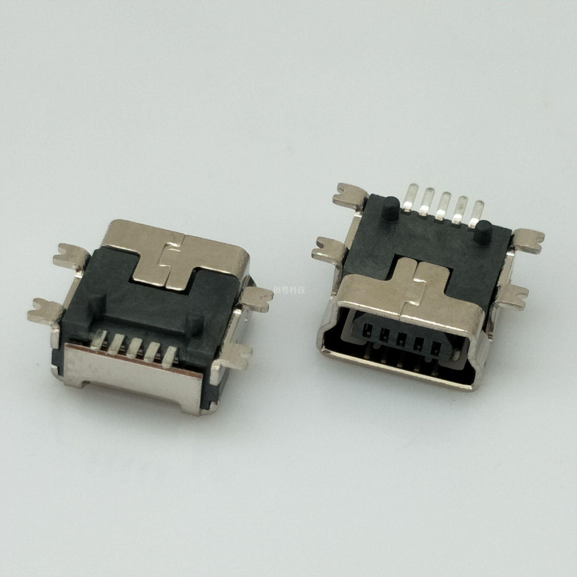MINI USB全贴母座