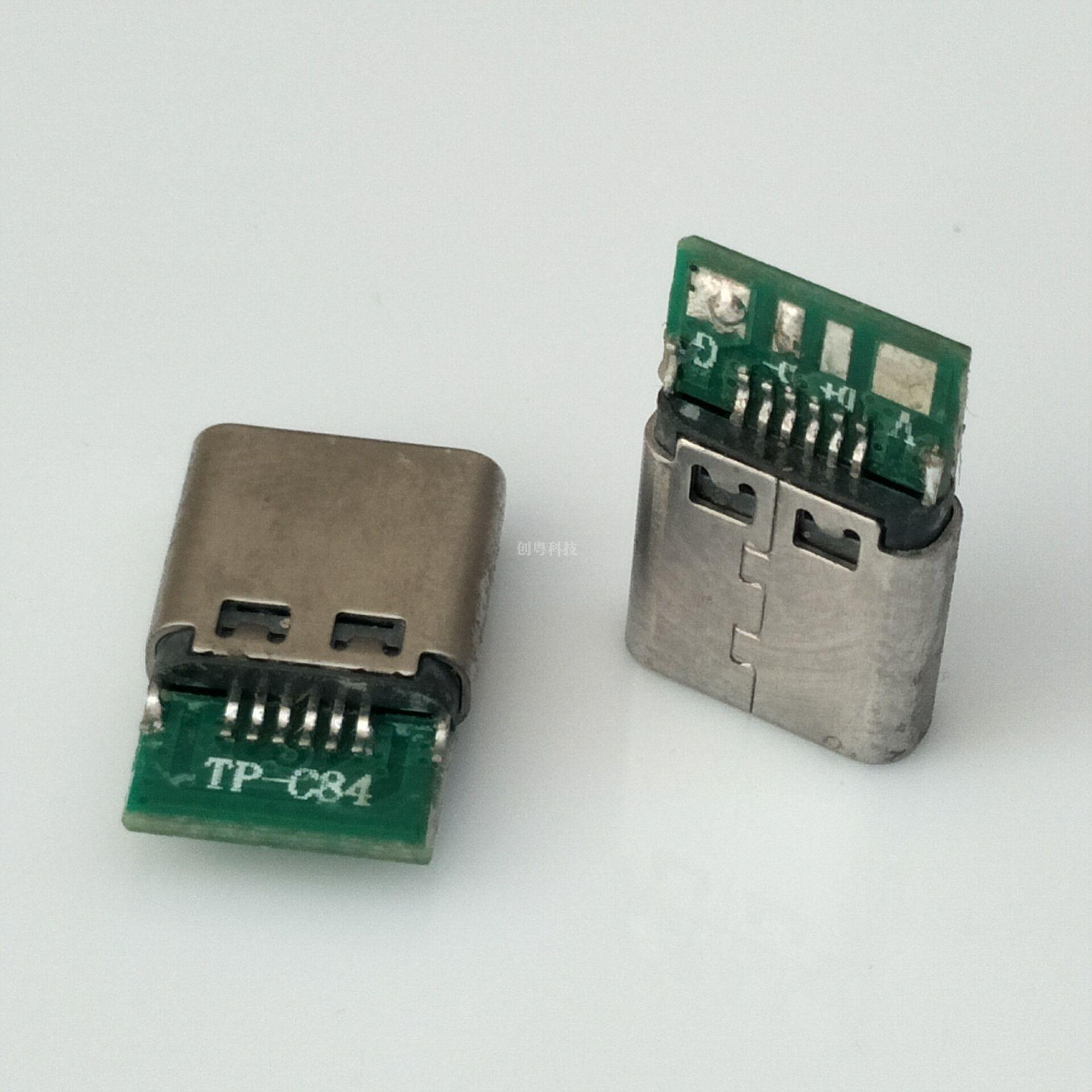 TYPE-C焊线母座