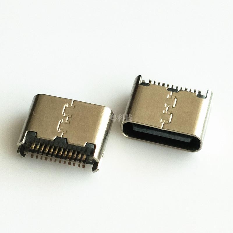 TYPE C 夹板母座